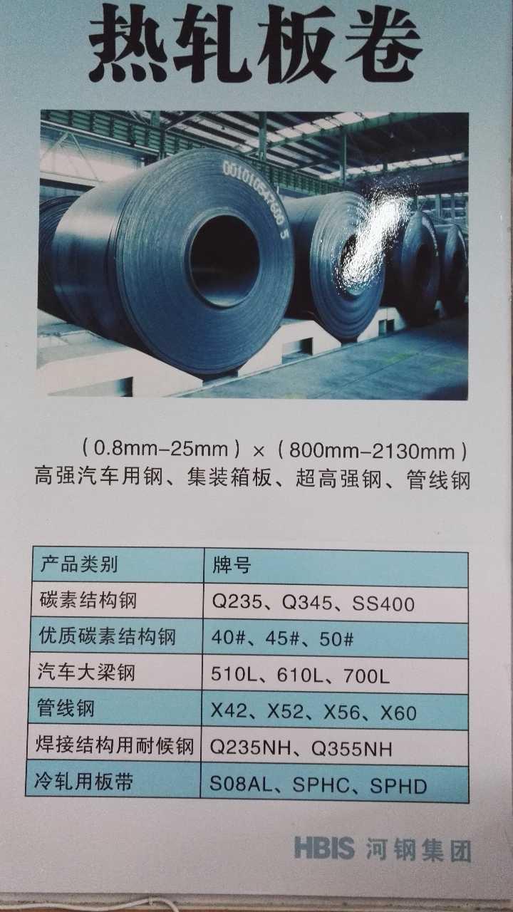 来自薛志强发布的供应信息:河钢集团旗下唐钢、邯钢、宣钢、承钢、石钢... - 河钢集团有限公司
