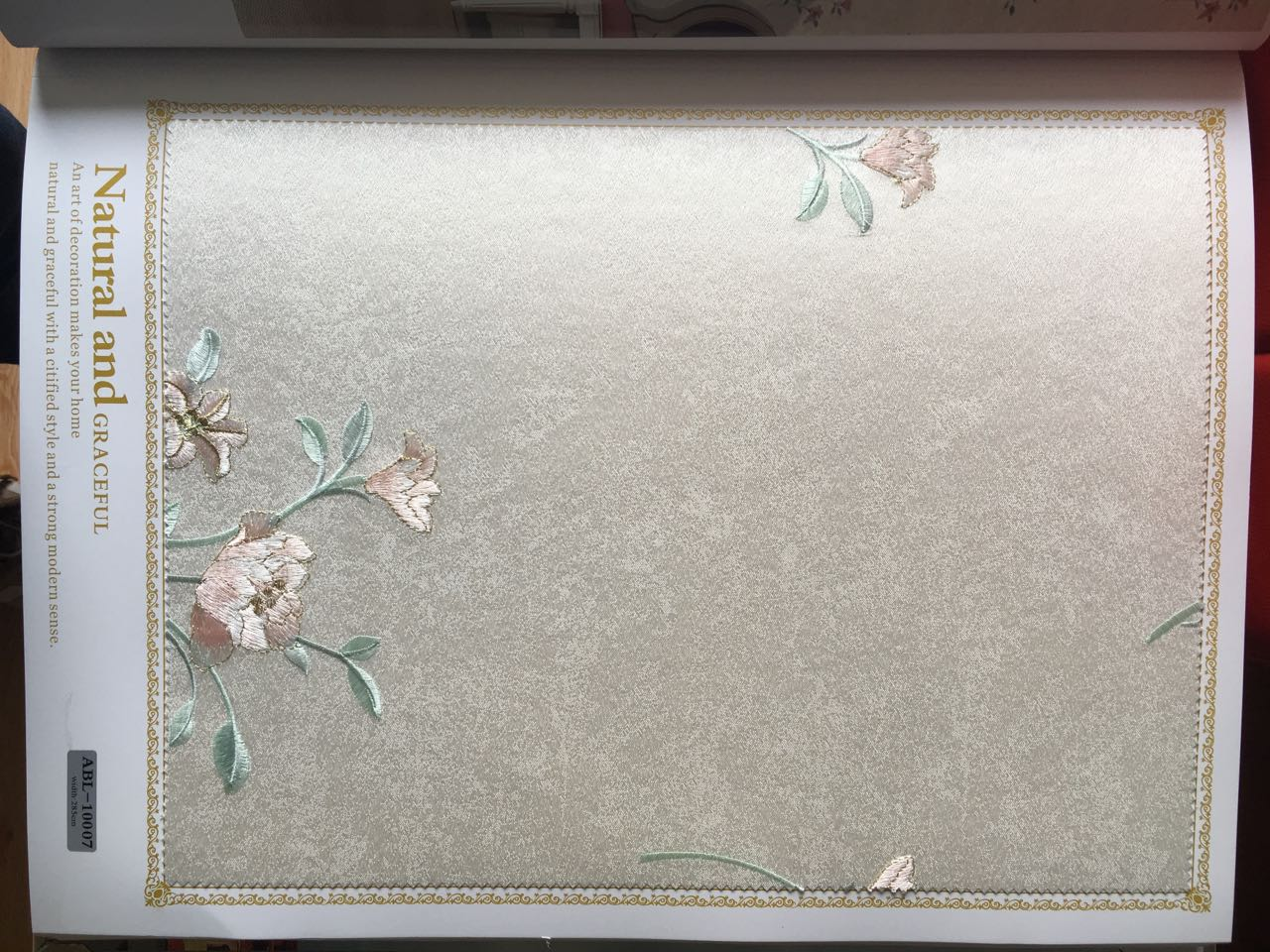 来自霍浩然发布的供应信息:刺绣新品,高端品质,冰点价格,... - 壁家美伯爵恒高装饰材料有限公司
