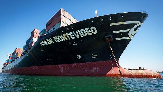 [界面新闻]韩进海运美国总部裁员127人 挂牌出售资产求出路