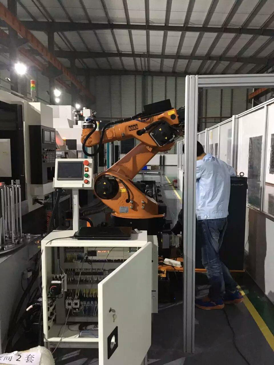 来自陳劍秋发布的供应信息:cNC+机械手... - 鐵王數控機床(蘇州)有限公司