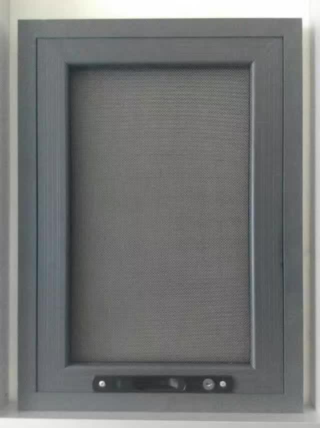 来自李治勇发布的供应信息:建升纱窗加工销售厂,批发定做隐形纱窗,防... - 泊头市建升门窗加工厂
