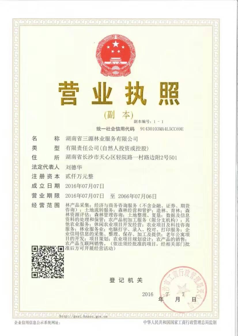 来自刘德云发布的招商投资信息:... - 湖南通达林业服务有限公司