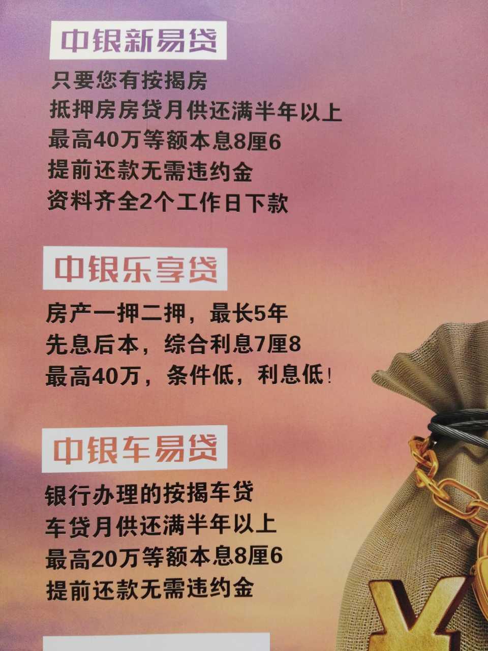 来自祁鹏发布的供应信息:⭕ 中国银行消费贷~青岛 ⭕ 只要您有按... - 青岛朗迈中银消费