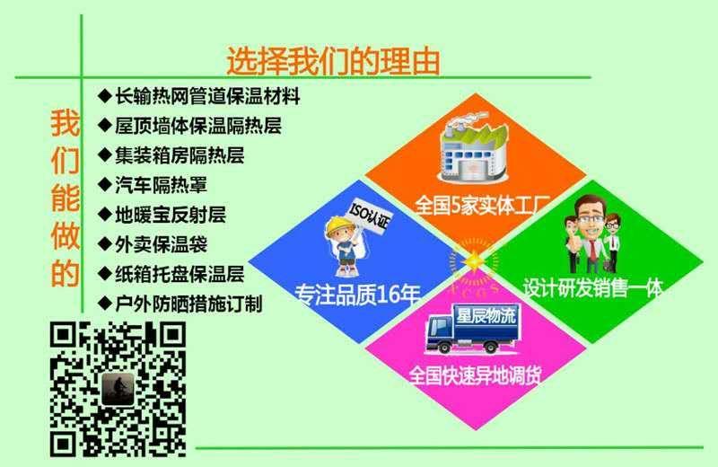 来自孙伟发布的供应信息:长输热网纳米气囊反射层,EPE/XPE泡... - 深圳市星辰新材料有限公司